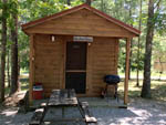 View larger image of Cabin with deck at BEAN POT CAMPGROUND image #4