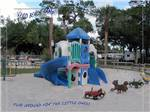 View larger image of Colorful plastic playground in sandbox at VERO BEACH KAMP image #6