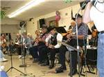View larger image of Jam session at WEAVERS NEEDLE RV RESORT image #9