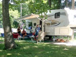 View larger image of Folks camping at GRANDPAS FARM image #5
