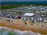 View larger image of Magnificent aerial view at BEVERLY BEACH CAMPTOWN RV RESORT  CAMPERS VILLAGE image #8