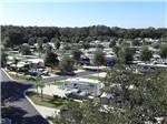 View larger image of Aerial view over campground at QUAIL RUN RV RESORT image #4