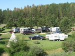 View larger image of Trailers camping at CROOKED CREEK RESORT  RV PARK image #1