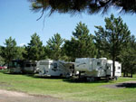 View larger image of Trailers and RVs camping at CROOKED CREEK RESORT  RV PARK image #2