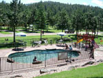View larger image of Swimming pool at campgrounds at CROOKED CREEK RESORT  RV PARK image #3