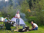 View larger image of Girls camping at CROOKED CREEK RESORT  RV PARK image #4