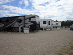 View larger image of RVs and trailers at campgrounds at ANCIENT CEDARS MESA VERDE RV PARK image #3