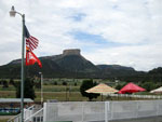 View larger image of Good Sam flag at office at ANCIENT CEDARS MESA VERDE RV PARK image #6