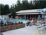 View larger image of People swimming in the pool at RAMBLIN PINES FAMILY CAMPGROUND  RV PARK image #2