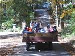 View larger image of Wagon ride at RAMBLIN PINES FAMILY CAMPGROUND  RV PARK image #5