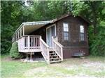 View larger image of Cabin with deck at RAMBLIN PINES FAMILY CAMPGROUND  RV PARK image #7