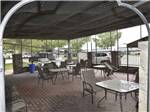 View larger image of Flowers at campground at GLOWING EMBERS RV PARK  TRAVEL CENTRE image #5