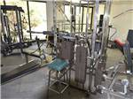 View larger image of Trailers in gravel sites with trees at GLOWING EMBERS RV PARK  TRAVEL CENTRE image #7