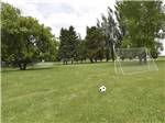 View larger image of RVs and trailers at campground at GLOWING EMBERS RV PARK  TRAVEL CENTRE image #8