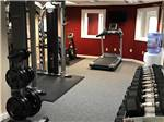 View larger image of Gym with exercise equipment at BAILEYS GROVE CAMPGROUND image #8