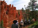 View larger image of Man with a cowboy hat on a horse at BRYCE CANYON PINES STORE  CAMPGROUND  RV PARK image #1