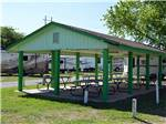 View larger image of Patio area with picnic tables at COUNCIL ROAD RV PARK image #6