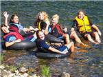 View larger image of Road leading into campgrounds at KING PHILLIPS CAMPGROUND image #11