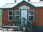 View larger image of Small building with table and chairs at SILVER STATE RV PARK image #3