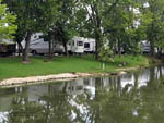 View larger image of RVs and Trailers alongside river at RIVERVIEW RV PARK image #5