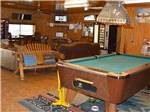 View larger image of Inside lodge at MINGO RV PARK image #2