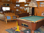 View larger image of Pool table in game room at MINGO RV PARK image #10