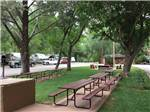 View larger image of Picnic tables and trailers camping at RANCHO SEDONA RV PARK image #6