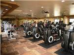 View larger image of Exercise area at SUNFLOWER RV RESORT image #5