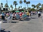 View larger image of Outdoor gathering at RINCON COUNTRY WEST RV RESORT image #11