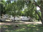 View larger image of Picnic area beside trailers at OASIS CAMPGROUND image #5