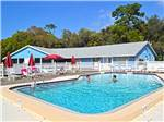 View larger image of Swimming pool at campground at TERRA CEIA RV RESORT image #1