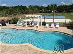 View larger image of Swimming pool at campground at EMERALD COAST RV BEACH RESORT image #1