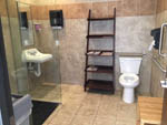 View larger image of Bathroom and shower at HOUSTON WEST RV PARK image #7