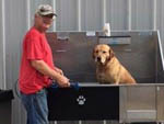 View larger image of Dog washing area at HOUSTON WEST RV PARK image #9