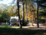 View larger image of Trailer camping at SANDY POND CAMPGROUND image #3