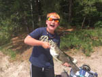 View larger image of Kid fishing at SANDY POND CAMPGROUND image #9