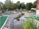 View larger image of Miniature golf course at CAMPARK RESORTS FAMILY CAMPING  RV RESORT image #3