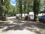 View larger image of Gravel road leading into RV park at RIO CHAMA RV PARK image #4