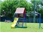 View larger image of Playground with swing set at USI RV PARK image #6