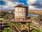 View larger image of Brown Rio Bend water tank at RIO BEND RV  GOLF RESORT image #2