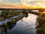 View larger image of Magnificent aerial view at RIVERSIDE RV PARK  RESORT image #1