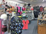 View larger image of The clothing store with hats at TOK RV VILLAGE  CABINS image #3