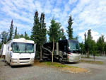 View larger image of RVs camping at TOK RV VILLAGE  CABINS image #4
