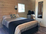 View larger image of The inside of one of their camping cabins at TOK RV VILLAGE  CABINS image #6