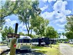 View larger image of Man biking with dog at STAGECOACH RV PARK image #10