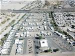 View larger image of An aerial view of the campsites at HOLIDAY PALMS RESORT image #7
