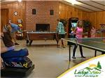 View larger image of Pool table in game room at LEDGEVIEW RV PARK image #4
