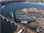 View larger image of Magnificent aerial view at PORT OF NEWPORT MARINA  RV PARK image #4