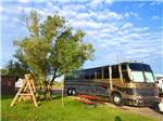 View larger image of A large motorhome in an RV site at GRANDVIEW CAMP  RV PARK image #3