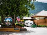 View larger image of RV parked in front of the office at MT HOOD VILLAGE RESORT image #1